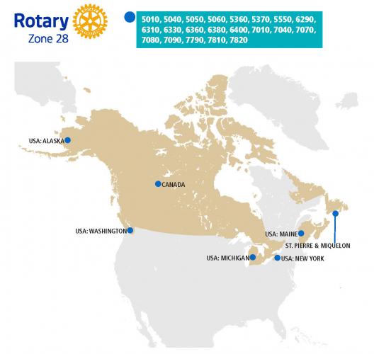 Rotary zone 28