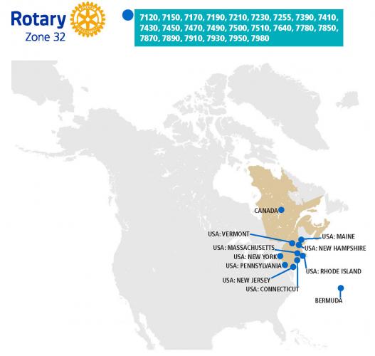 Rotary zone 32